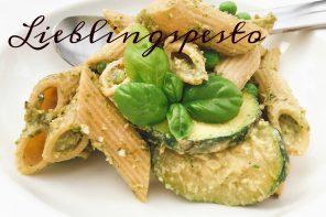 Veganes Pesto mit Avocado und Rucola