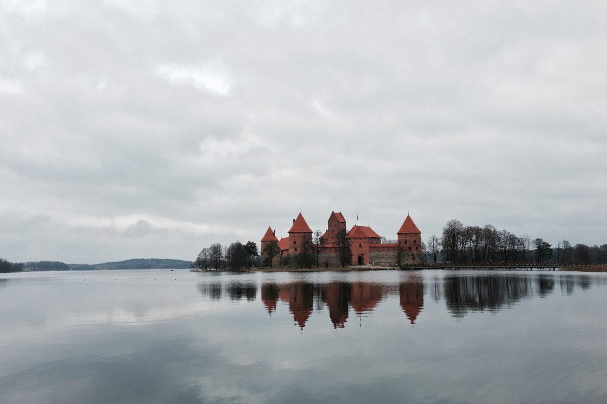 Wasserburg Trakai Vilnius