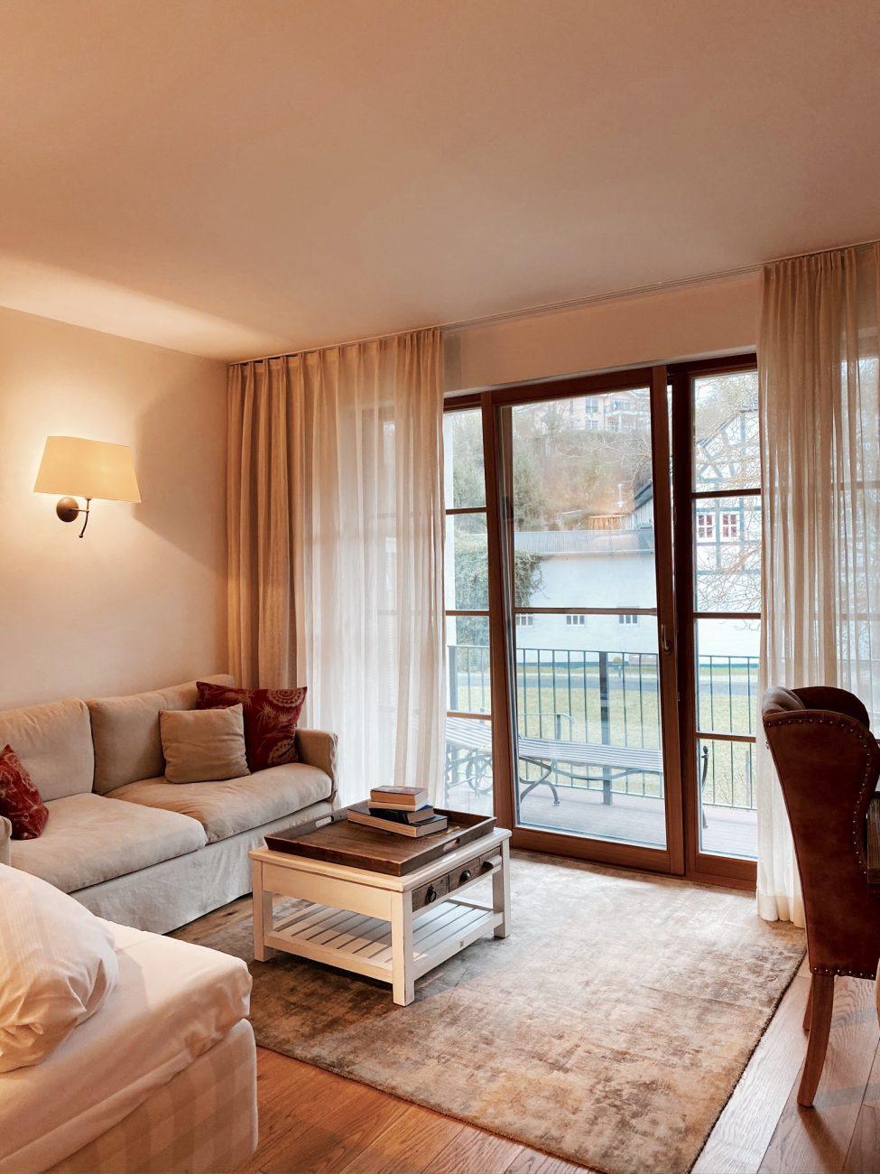 Zimmer im Hotel Bollants