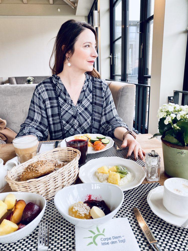 Frühstück im Hotel Bollants