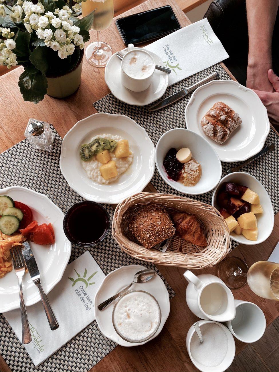 Frühstück im Bollants