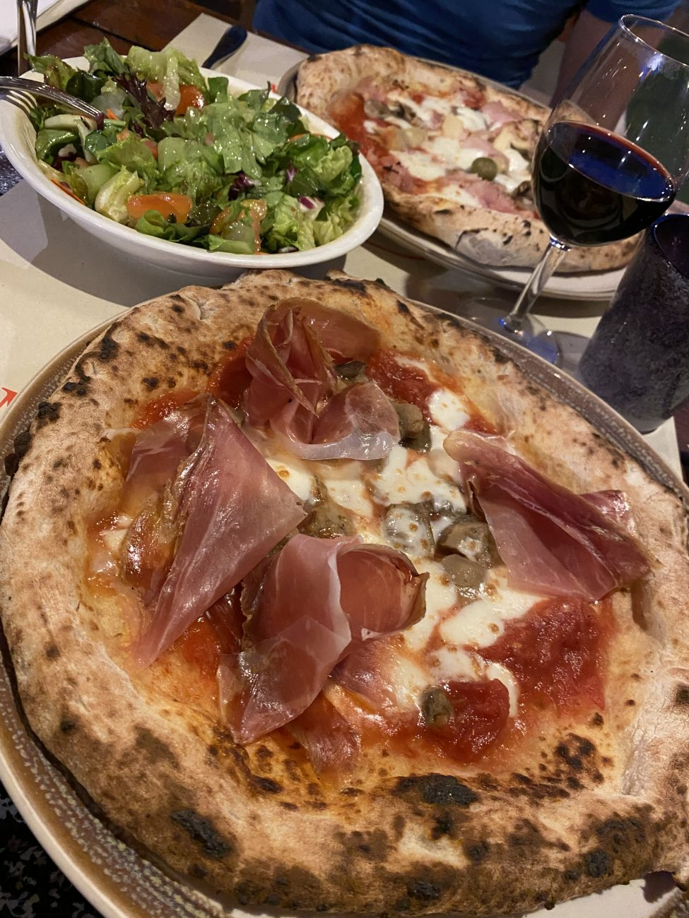 Pizzeria Mamma Rosa Ortezzano, beste Restaurants Marken, Italien